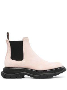 Alexander McQueen ботинки без застежки