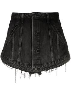 Alexander Wang джинсовая юбка-шорты