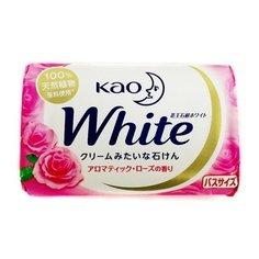 Крем-мыло кусковое Kao White с ароматом розы, 130 г КАО