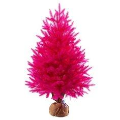 Царь елка Ель искусственная Сапфир (розовая) 80 см