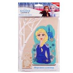 LORI Роспись по дереву Игрушка-сувенир Холодное сердце-2 Эльза (Фнд-001)