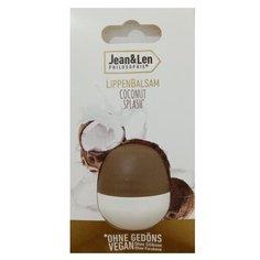 Jean & Len Бальзам для губ Coconut Splash светло-бежевый