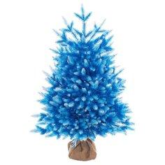 Царь елка Ель искусственная Сапфир (синяя белыми кончиками) 80 см