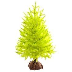 Царь елка Ель искусственная Сапфир (желтая) 80 см