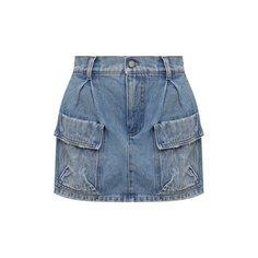 Джинсовая юбка-шорты REDVALENTINO