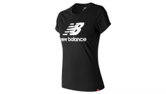 ESSENTIALS STACKED LOGO TEE New Balance