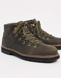 Коричневые походные ботинки Timberland squall canyon WP-Коричневый