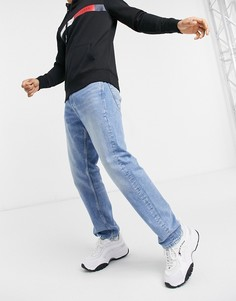 Светло-голубые джинсы свободного кроя в винтажном стиле Jack & Jones Intelligence Chris-Голубой