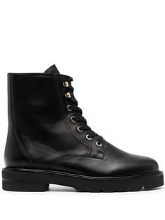 Stuart Weitzman ботинки Mila на шнуровке