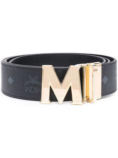 MCM ремень из искусственной кожи с пряжкой-логотипом