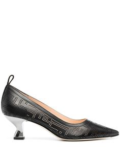 Fendi туфли-лодочки с логотипом
