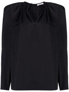 Givenchy блузка с пышными рукавами