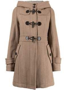 Burberry Pre-Owned дафлкот с капюшоном