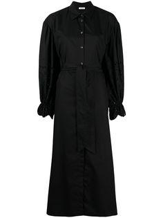 P.A.R.O.S.H. платье миди с длинными рукавами