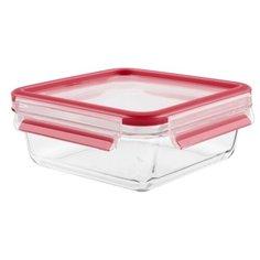 Tefal Контейнер GLASS CLIP&CLOSE 0.9 л белый/красный