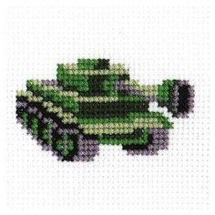 РС-студия Набор для вышивания Танк 4 x 8 см (819)