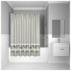 Штора для ванной IDDIS B51P218i11 180x200 серый