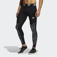 Удлиненные леггинсы Football Hype Techfit adidas Performance