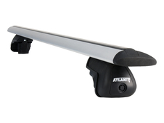 Багажник Atlant аэродуги 1,26м на Ауди A4 Олроуд Кватро Б8 универсал с рейл 2009-2015 2192
