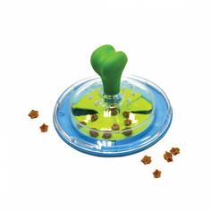 Интерактивная игрушка для собак Duvo+ Спиннер для лакомств, голубой, 15 см