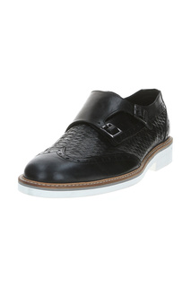 Туфли мужские Baldinini UE8500P00GREG0000 черные 46 RU