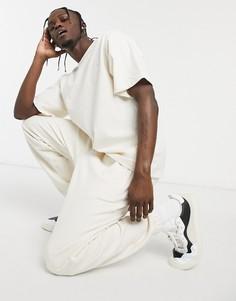 Светлые джоггеры от комплекта adidas Originals Premium-Белый