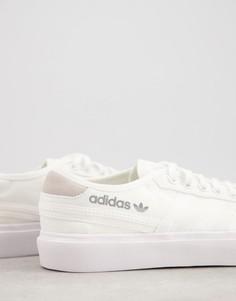 Белые кроссовки adidas Originals Delpala-Белый