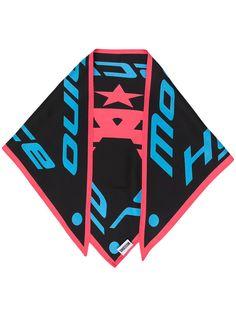 Moschino платок с логотипом