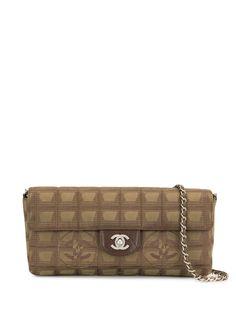 Chanel Pre-Owned сумка на плечо Travel Line 2002-го года