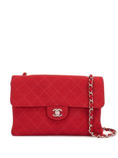 Chanel Pre-Owned стеганая сумка на плечо Jumbo XL 1998-го года