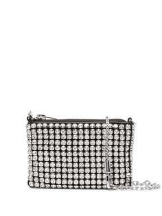 Alexander Wang мини-сумка с кристаллами