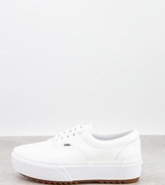 Белые кроссовки Vans-Белый