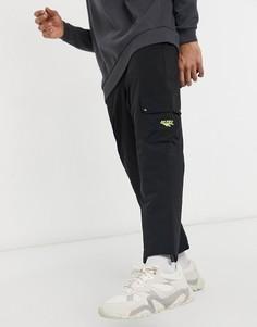 Черные брюки карго Hi-Tec-Черный цвет