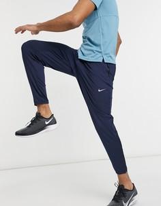 Темно-синие джоггеры Nike Running-Темно-синий