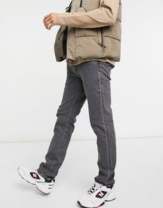 Узкие джинсы черного цвета с сильным эффектом стирки Levis 511-Черный цвет Levis®