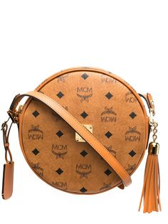 MCM сумка через плечо Heritage с логотипом Visetos