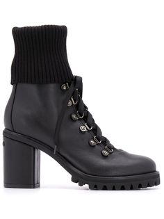 Le Silla ботинки на блочном каблуке