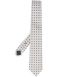 Brunello Cucinelli галстук с узором