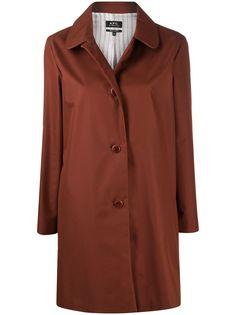 A.P.C. куртка-рубашка на пуговицах