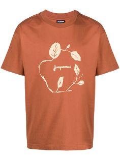 Jacquemus футболка с короткими рукавами и логотипом