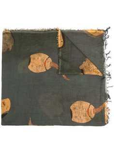 Uma Wang шарф с принтом