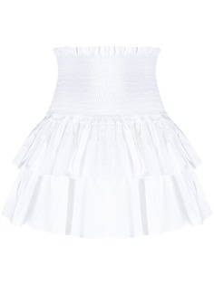 Dondup ярусная юбка мини
