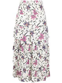 Isabel Marant Étoile юбка Orfeo с цветочным принтом