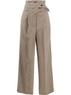 Paul Smith брюки строгого кроя с поясом