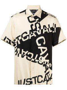 Just Cavalli рубашка с короткими рукавами и логотипом