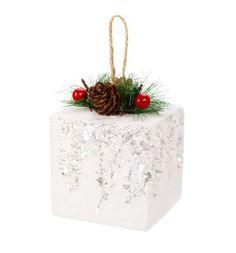 Елочное украшение Новогодняя сказка Подарок 8 см