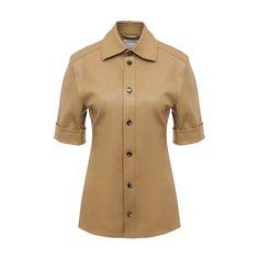 Кожаная рубашка Bottega Veneta