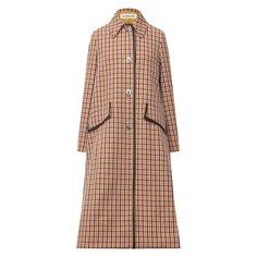 Шерстяное пальто Lanvin