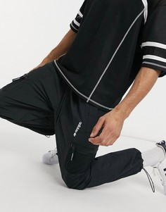 Черные трикотажные джоггеры с карманами adidas Originals adventure-Черный цвет