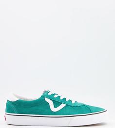 Зеленые кроссовки Vans Sport-Зеленый цвет